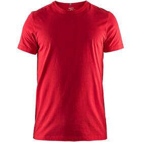 Craft Deft 2.0 Bluzka z krótkim rękawem Mężczyźni czerwony